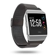 billiga Smart klocka Tillbehör-Klockarmband för Fitbit ionic Fitbit Milanesisk loop Rostfritt stål Handledsrem