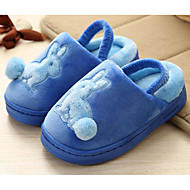 baratos Sapatos de Menina-Para Meninas Sapatos Flanelado Inverno Conforto Chinelos e flip-flops para Marron / Azul / Rosa claro
