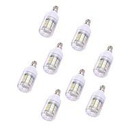 tanie Więcej Kupujesz, Więcej Oszczędzasz-5pcs 2W 150 lm Żarówki LED kukurydza T 30 Diody lED SMD 5730 Ciepła biel Biały 110-120