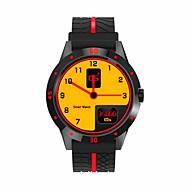 tanie Inteligentne zegarki-Inteligentny zegarek Ekran dotykowy Pulsometr Wodoszczelny Spalone kalorie Krokomierze Video Rejestr ćwiczeń Informacje Odbieranie bez