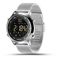 HHY Ex18 Smart Watch Bracelet Steel Band News Push Luminous Dial Professional Stopwatch 50 Meters Super Waterproof