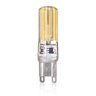 billige Bi-pin lamper med LED-1 stk 4W 340 lm G9 LED-lamper med G-sokkel 4 leds COB Varm hvit Kjølig hvit AC 200-240V