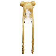 Perucas de Cosplay Sailor Moon Sailor Moon Anime Perucas de Cosplay 100 CM Fibra Resistente ao Calor Mulheres
