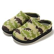 お買い得  男の子用靴-男の子 靴 繊維 春 秋 赤ちゃん用靴 コンフォートシューズ スリッパ&フリップ・フロップ 面ファスナー のために カジュアル グリーン ピンク