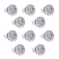 tanie Więcej Kupujesz, Więcej Oszczędzasz-YWXLIGHT® 10 szt. 3 W 200-300 lm GU10 Żarówki punktowe LED 3 Koraliki LED SMD 3030 Ciepła biel / Zimna biel 85-265 V