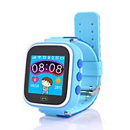 tanie Inteligentne zegarki-Inteligentny zegarek Ekran dotykowy Spalone kalorie Krokomierze Śledzenie odległości Informacje Odbieranie bez użycia rąk Anti-lost Długi