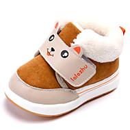 赤ちゃん 靴 繊維 秋 冬 スノーブーツ フラフライニング ブーツ 用途 カジュアル ダークブルー コーヒー ピーチ バーガンディー