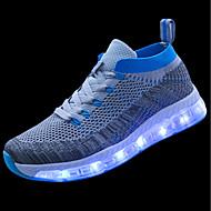 Prix De Gros En Ligne Mujer Zapatos Tul Primavera / Otoño Zapatos con luz Zapatillas de deporte Dedo redondo Verde / Negro / azul / Azul Real En Ligne Bon Marché 100% Authentique ndN0Kr