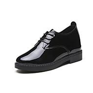 Feminino Sapatos Couro Ecológico Verão Conforto Sandálias Salto Robusto Para Branco Preto