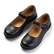 Girls' Shoes PU Spring Fall Mary Jane Flats For Casual Brown Black