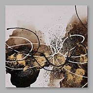 halpa -Maalattu Abstrakti Moderni 1 paneeli Kanvas Hang-Painted öljymaalaus For Kodinsisustus