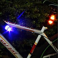 お買い得  自転車用ライト&反射鏡-自転車用ライト 緊急ライト 後部バイク光 サイクリング パータブル プロフェッショナル 防水 ライトウェイト コンパクトデザイン LEDライト ボタン電池 ルーメン キャンプ/ハイキング/ケイビング 日常使用 サイクリング