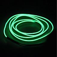 BRELONG® 5M Verlichtingsslingers 0 LEDs EL Wit / Rood / Blauw Waterbestendig / Zelfklevend / Neon Electroluminescent Wire 1pc