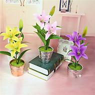 1 Gren Styropor Plastikk Liljer Bordblomst Kunstige blomster