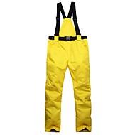 Uniseks Skijaške hlače Toplo Vodootporno Vjetronepropusnost Podesan za nošenje Prozračnosti Skijanje Pamuk