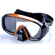 Máscaras de mergulho Máscara de Snorkel Profissional Anti-Nevoeiro Ajustável Alta qualidade Mergulho e Snorkeling Silicone