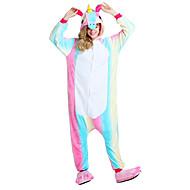 Kigurumi plišana pidžama Leteći konj Unicorn Onesie pidžama Kostim Fabrik Flannel Duga Cosplay Za Odrasli Zivotinja Odjeća Za Apavanje
