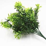 3 Gren Plastikk Andre Planter Andre Bordblomst Kunstige blomster
