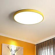 abordables -Moderne/Contemporain Montage du flux Pour Salle de séjour Chambre à coucher Chambre des enfants AC 100-240V Ampoule incluse