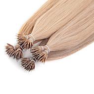neitsi 20 '' 50g / lot g / s nano ring loop tip Remy menneskelige hår extensions lige