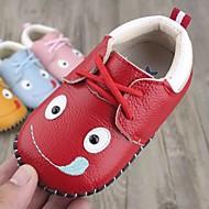女の子 靴 本革 冬 秋 赤ちゃん用靴 スニーカー のために カジュアル ホワイト イエロー レッド ブルー ピンク