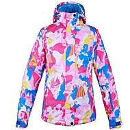 Mulheres Jaqueta de Esqui Quente Ventilação A Prova de Vento Vestível resistente à água Esqui Multi-Esporte Esportes de Inverno Esportes