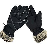 スキーグローブ 女性用 ミトン 防水 不織布 スキー 冬