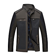 cheap -Men's Weekend Cotton Jacket - Solid Stand