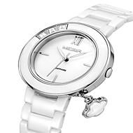 billige Quartz-MEGIR Dame Armbåndsur Quartz Analog Damer Afslappet Mode Elegant Kjoleur - Sølv Rose Guld