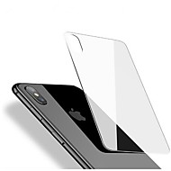 Näytönsuojat varten Apple iPhone X Karkaistu lasi 1 kpl Takakannen suoja Teräväpiirto (HD) 9H kovuus 2,5D pyöristetty kulma Ultraohut