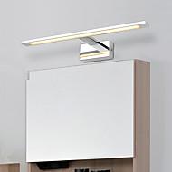 tanie Oświetlenie lustra-Modern / Contemporary Oświetlenie łazienkowe Na Metal Światło ścienne IP20 90-240V 24W