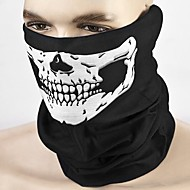 ZIQIAO Motorcycle Skull Face Mask Outdoor Sport Cycling Bike Motorbike Mask Windproof/sweat absorbent/sunscreen/breathable