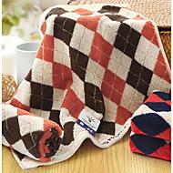 preiswerte Handtuch-Frischer Stil Handtuch,Karomuster Gehobene Qualität Reine Baumwolle Handtuch