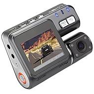 i1000 720p bil dvr 90 graders vidvinkel 1,8 tommers lcd dash cam med nattesyn / loop opptak bilopptaker
