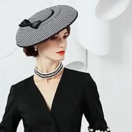 Mătase / Stare de fapt Weave Kentucky Derby Hat / Palarie cu 1 Nuntă / Party / Seara Diadema