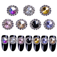 cheap Nail Art-35 Glitter Rhinestones Nail Jewelry Crystal Stylish Fashion Lovely Wedding High Quality Daily