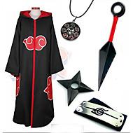 Inspirado por Naruto Sasuke Uchiha Animé Disfraces de cosplay Trajes Cosplay / Más Accesorios Estampado Capa / Más Accesorios Para Hombre
