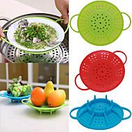 tanie Akcesoria do owoców i warzyw-Narzędzia kuchenne Silikonowy Zestaw narzędzi do gotowania Do naczynia do gotowania 1szt
