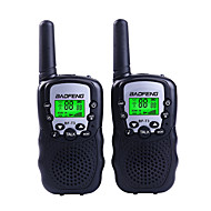 BAOFENG T3 Walkie-talkie Håndholdt 1,5-3 km 1,5-3 km Walkie talkie Tovejs radio