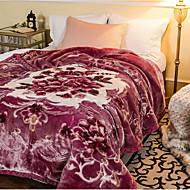 Superweich,Garnfärbung Polyester / Baumwolle Decken
