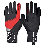 Sports Gloves Winter Gloves Bike Gloves / Cycling Gloves Touch Gloves Keep Warm Reflective Windproof Breathable Wicking Stretchy