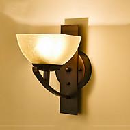 baratos Arandelas de Parede-Rústico / Campestre / Regional Luminárias de parede Vidro Luz de parede 220V 40 W / E27