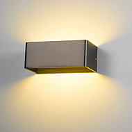 billige Vegglamper med LED-moderne 6w led wall sconce innendørs hall soverom spot light metal dekorative belysning