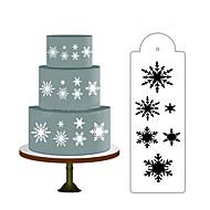 billige Bakeredskap-Bakeware verktøy Plastikker baking Tool Dagligdags Brug Rektangulær Cake Moulds 1pc