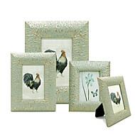 μόδα δημιουργική χειροποίητο ξύλο πλαίσιο εικόνας ανοιχτό πράσινο κορνίζες φωτογραφιών f114