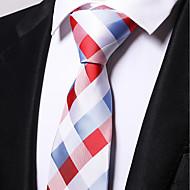 tanie Akcesoria dla mężczyzn-Męskie Praca Krawat Kratka