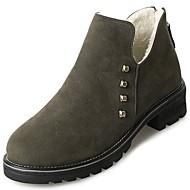 レディース 靴 ラバー 冬 コンバットブーツ ブーツ ラウンドトウ 用途 ブラック アーミーグリーン