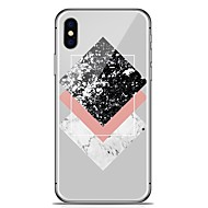 billiga Mobil cases & Skärmskydd-fodral Till Apple iPhone X iPhone 8 Plus Mönster Skal Marmor Mjukt TPU för iPhone X iPhone 8 Plus iPhone 8 iPhone 7 Plus iPhone 7 iPhone