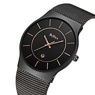 BIDEN Homens Quartzo Relógio de Pulso Japanês Calendário / Impermeável Aço Inoxidável Banda Luxo / Vintage / Casual / Fashion Preta /