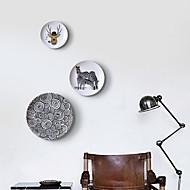 זול קישוטי קיר-קיר תפאורה אבץ מופשט (אבסטרקטי) וול ארט,מדפים ומדפי קיר שֶׁל 3